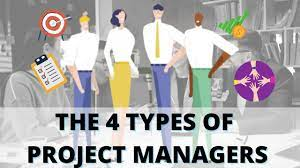 THE 4 TYPES OF PROJECT MANAGER